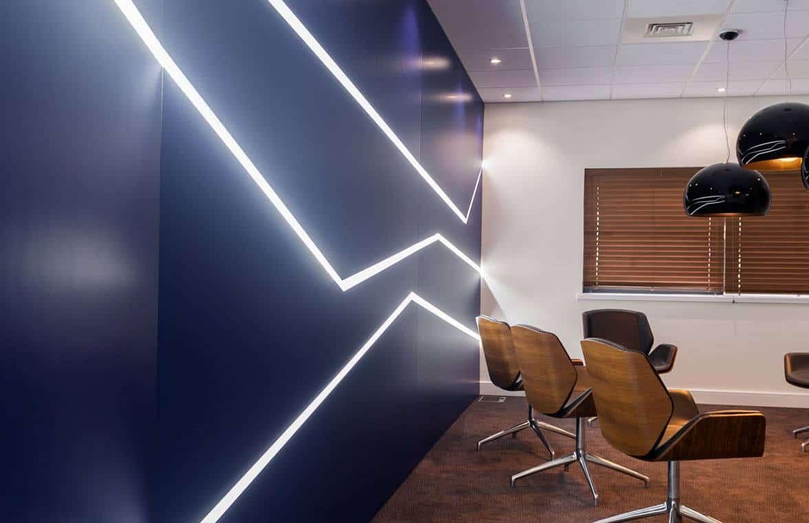 Office light fittings Designer Tube Light Funky Light Fittings To Light Up Your Office Fit Out Indiamart Meridian Interiors Funky Light Fittings To Light Up Your Office