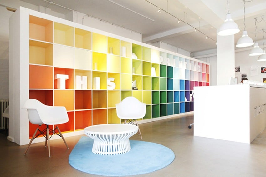 A simple guide colour in the office meridian interiors for Office design guidelines uk